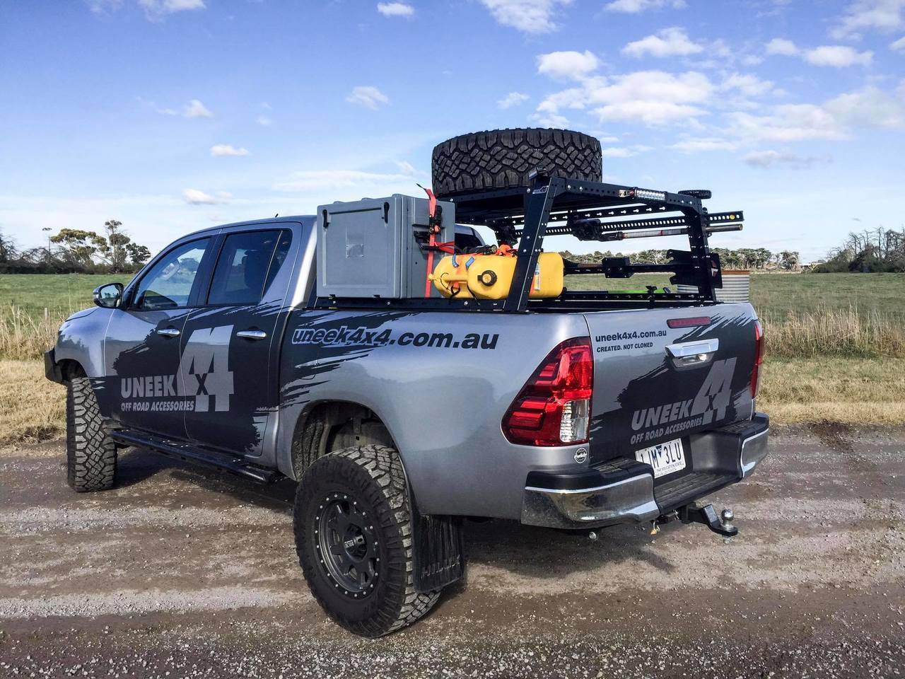 UNEEK 4X4 ADVENTURE RACK- UNIVERSAL FIT FOR UTE TUBS – Select 4WD