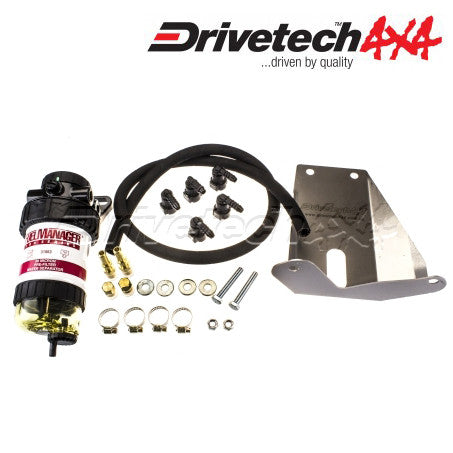 DRIVETECH 4x4 FUEL MANAGER PRE-FILTER & WATER SEPARATOR (FORD PX RANGER)