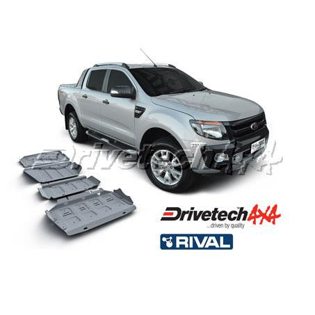DRIVETECH 4X4- RIVAL UNDERBODY ARMOUR KIT (PX RANGER)