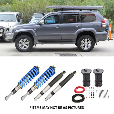 "SELECT 4WD OVERLAND SERIES 2"" LIFT KIT- PRADO 120 GRANDE (AIRBAG REAR)"