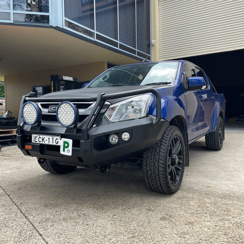 PIAK -3 LOOP ELITE WINCH BAR - ISUZU DMAX (2017-2020)
