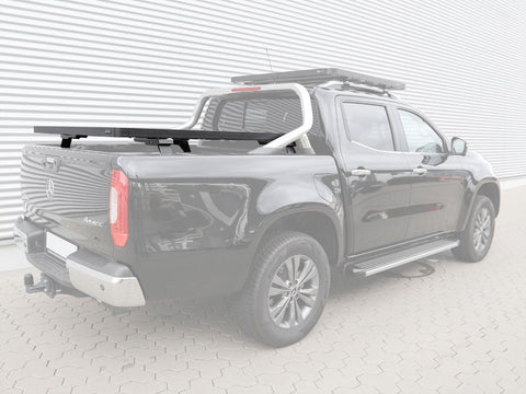 MERCEDES X-CLASS W/MB STYLE BARS (2017-CURRENT) SLIMLINE II LOAD BED RACK KIT - BY FRONT RUNNER