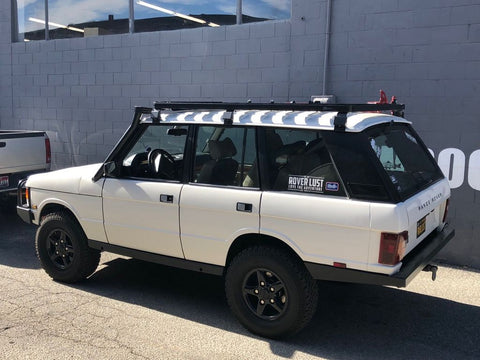 LAND ROVER RANGE ROVER (1970-1996) SLIMLINE II ROOF RACK KIT / TALL - BY FRONT RUNNER