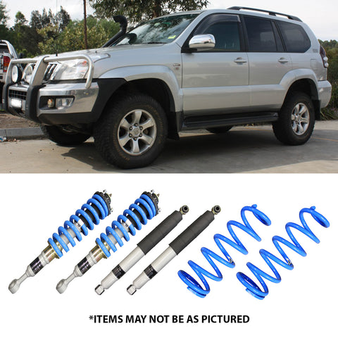 "SELECT 4WD OVERLAND SERIES 2"" LIFT KIT- PRADO 120"
