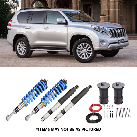 "SELECT 4WD OVERLAND SERIES 2"" LIFT KIT- PRADO 150 KAKADU (AIRBAG REAR)"