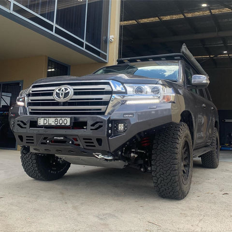 RIVAL BAR - PREMIUM ALLOY BUMPER - 200 SERIES LANDCRUISER 2015+ FACELIFT