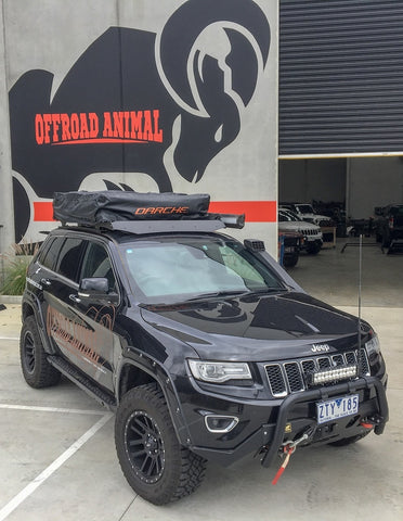 OFFROAD ANIMAL Roof Rack, Grand Cherokee Wk2 2011-2020