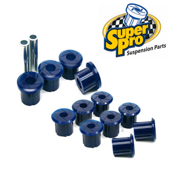 SUPER PRO LEAF SPRING BUSH KIT- TRITON ML/MN