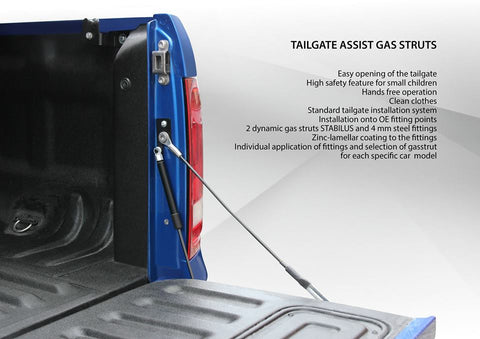 PREMIUM TAILGATE ASSIST KIT- VW AMAROK