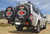OUTBACK ACCESSORIES TWIN WHEEL CARRIER- ISUZU DMAX (06/2012 ON)