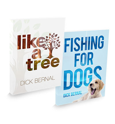 Fishing For Dogs & Like A Tree
