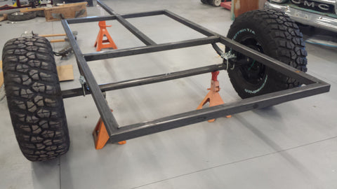 Fabrication Of The Off Road Trailer Grd Products Co