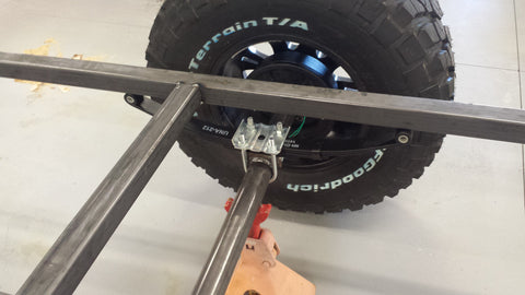 Fabrication of the Off Road Trailer – GRD Products Co