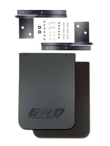 GRD Quick Disconnect Mud Flaps (Splash Guards) Universal Model - Jeep, Truck, SUV and Commercial Vehicle