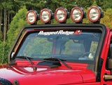 Rugged Ridge Windshield Mount Light Bar, Textured Black, 07-15 Jeep Wrangler (JK)