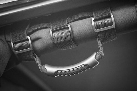 Rugged Ridge Ultimate Grab Handles, Black, 55-15 Jeep CJ and Wrangler