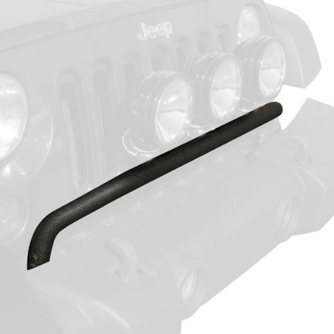 Rugged Ridge Bumper Mounted Light Bar, Textured Black, 07-15 Jeep Wrangler (JK)