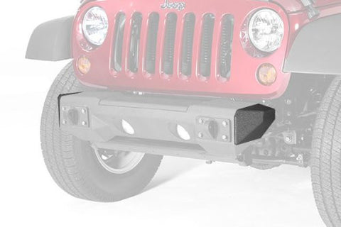 Rugged Ridge All Terrain Stubby Bumper Ends, 07-15 Jeep Wrangler (JK)
