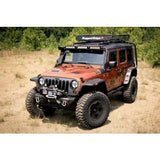 Rugged Ridge Hurricane Flat Fender Flare Kit, 07-15 Wrangler