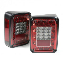 Rugged Ridge LED Tail Light Set, Smoke, 07-15 Jeep Wrangler