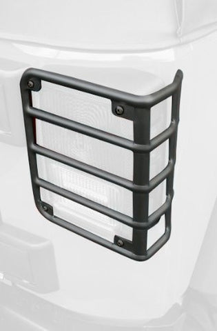 Rugged Ridge Tail Light Euro Guards, Black, 07-15 Jeep Wrangler