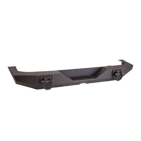 Rugged Ridge XHD Rear Bumper, Textured Black, 07-15 Jeep Wrangler