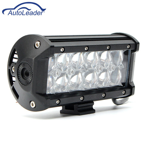 Autoleader 5D LED Spot Flood Beam Work Bar Light For Jeep SUV Offroad Car 3600LM 36W Car Headlight Bulbs Front Bulb Super Bright