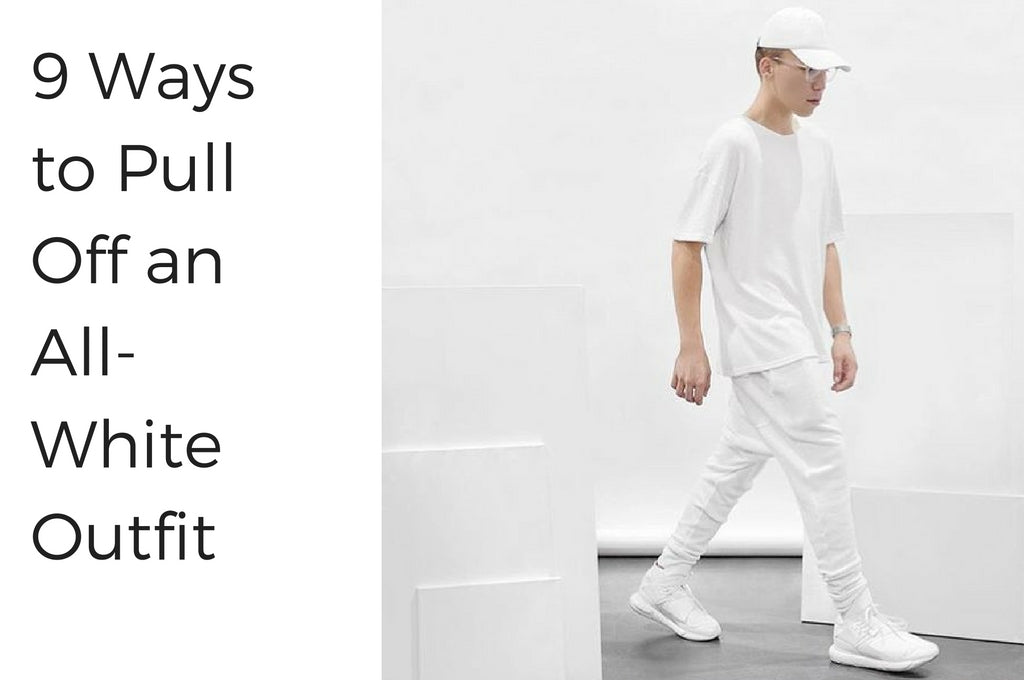 9 Ways to Pull Off an  All-White Outfit