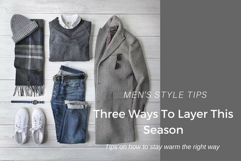 how to layer during the colder months, layering clothes