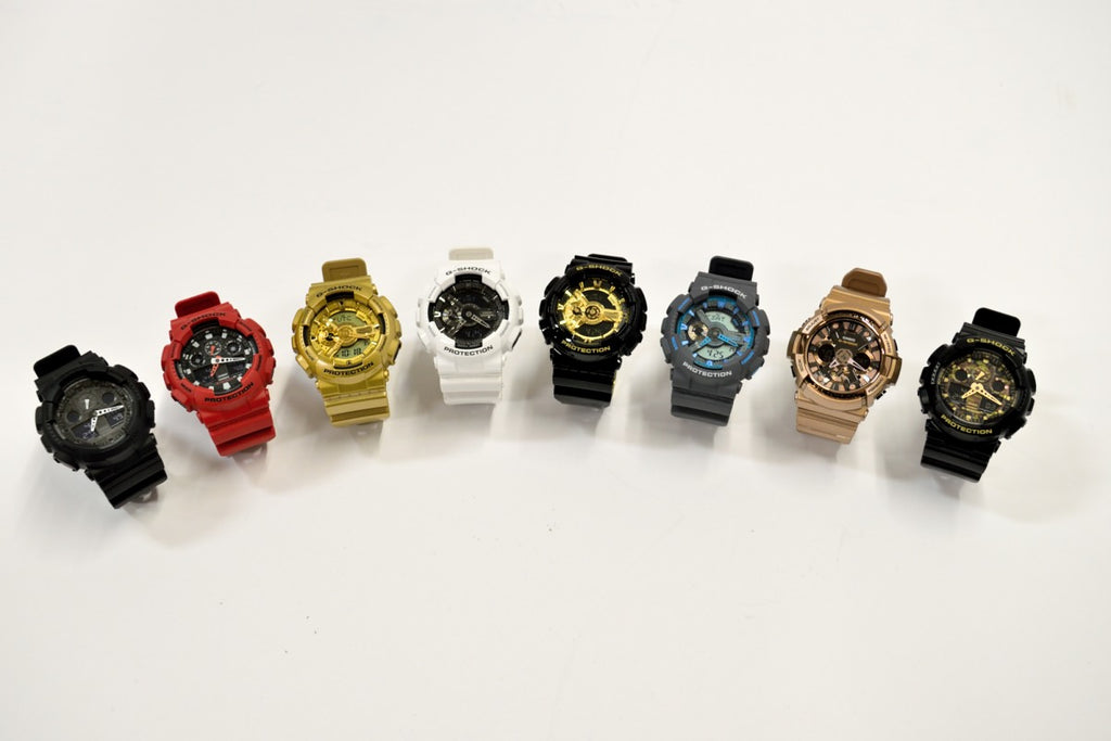 G-Shock wrist watches