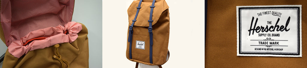 Herschel Supply Co. Retreat Backpack in Caramel