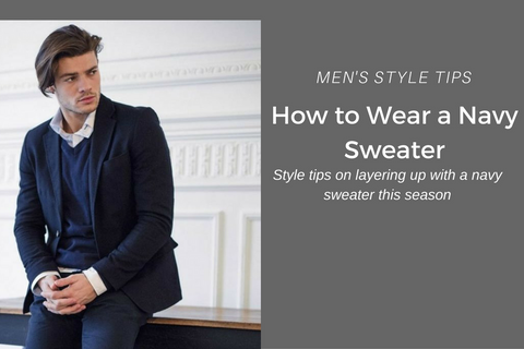 How to wear a sweater, crew neck, mens fashion