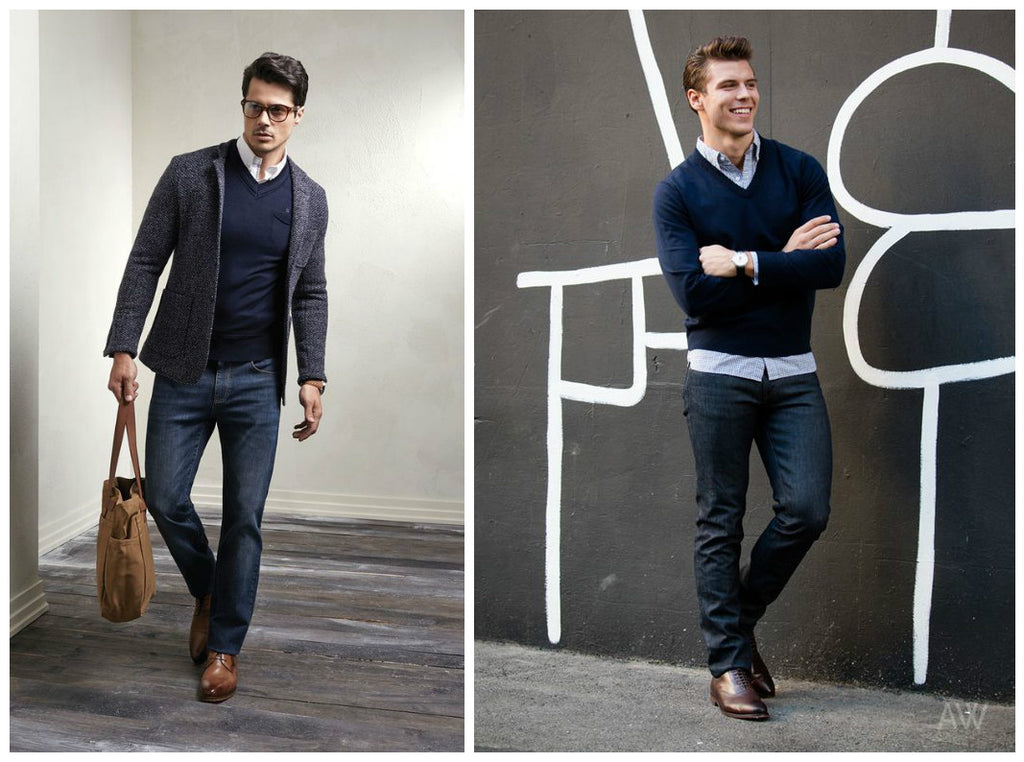 How To Wear A Navy Sweater Boysco