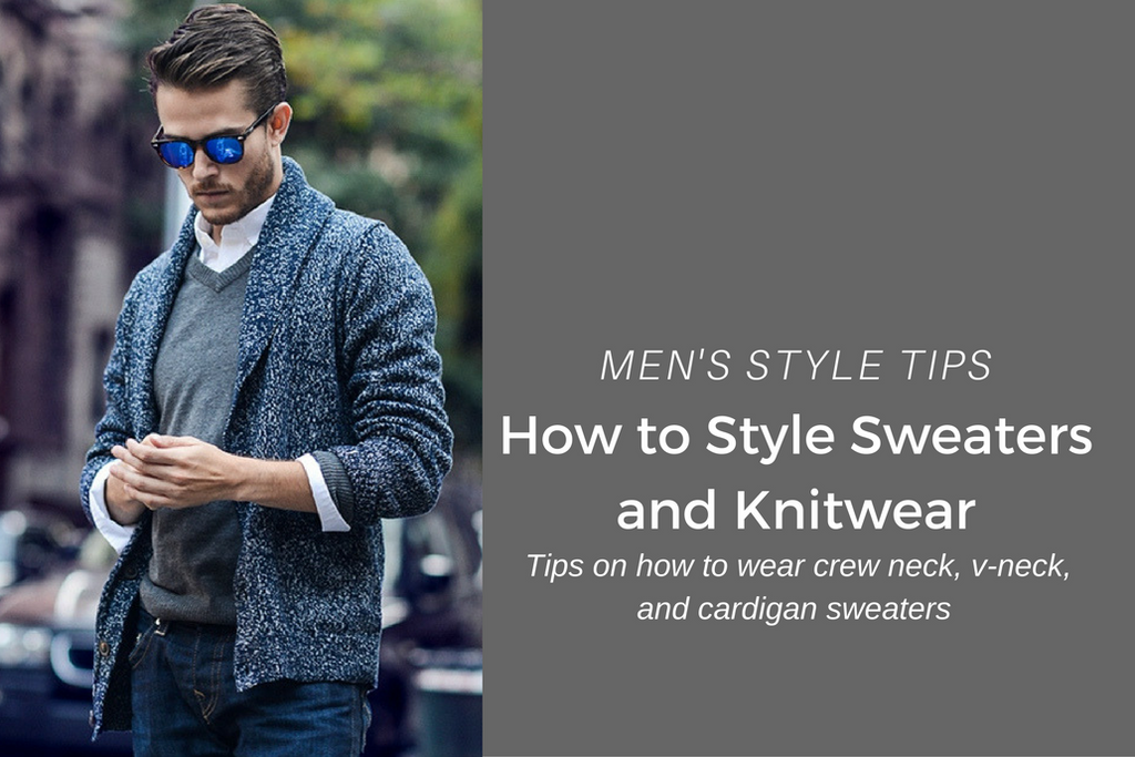 How to wear sweaters and knitwear