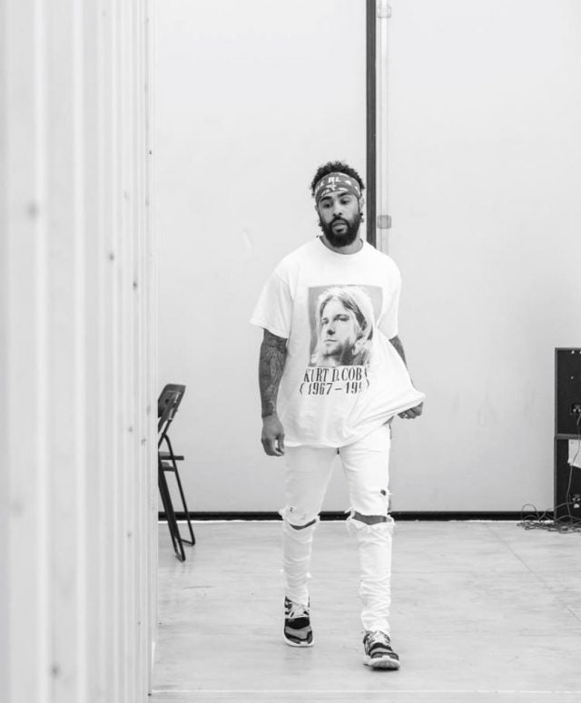 celebrity style jerry lorenzo wearing y-3