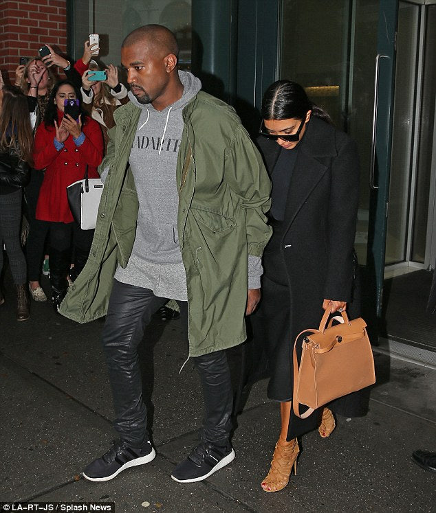 Celebrity style Kanye West wearing Y-3