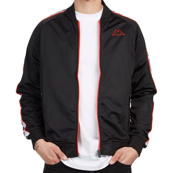 Kapa Banda Bomber in Black White Red Orange