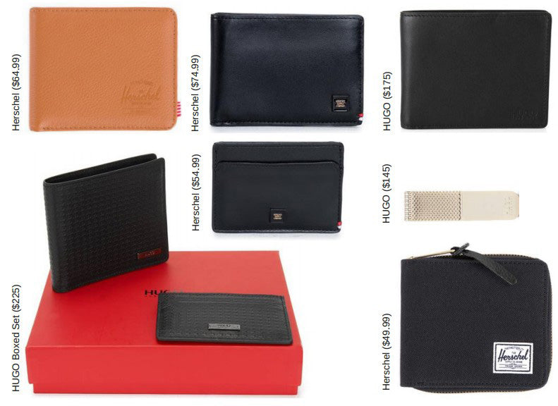 Mens holiday gift ideas, wallets