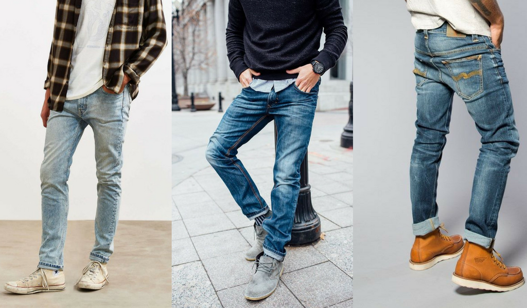 Mens Style Guides Types Of Jeans For Men With Different Body Types