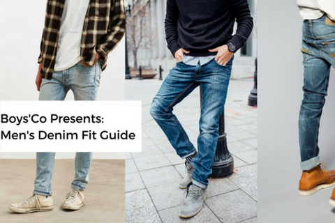 cb4f3f01 Mens Style Guides: Types of Jeans for Men with Different Body Types ...