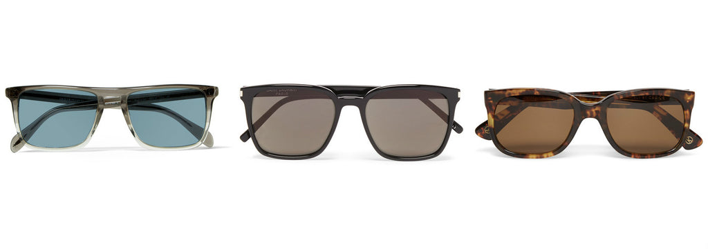 Sharp Framed Sunglasses Fro Round Faces