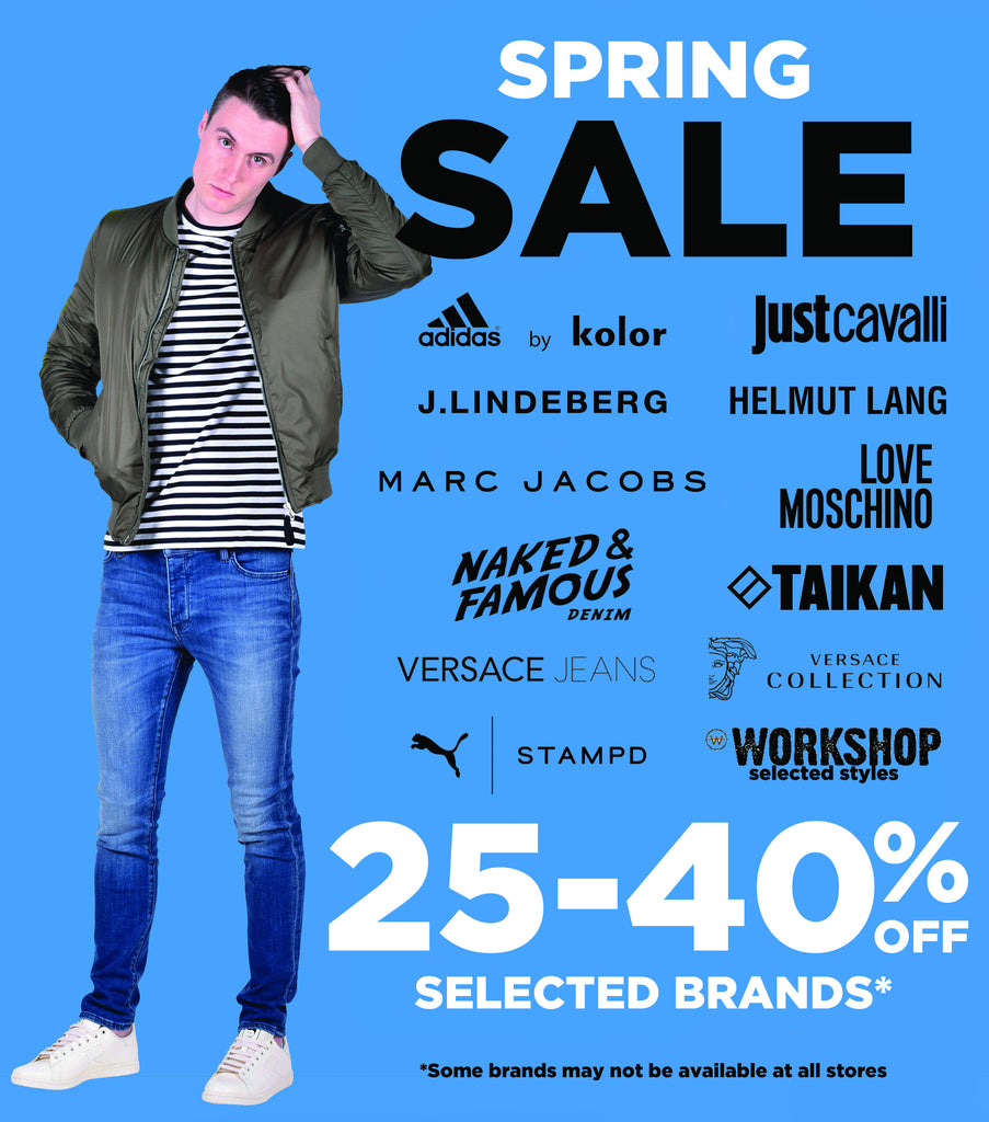 Visit Boys'Co Retail Stores for 25-40% off Selected Spring Collections!