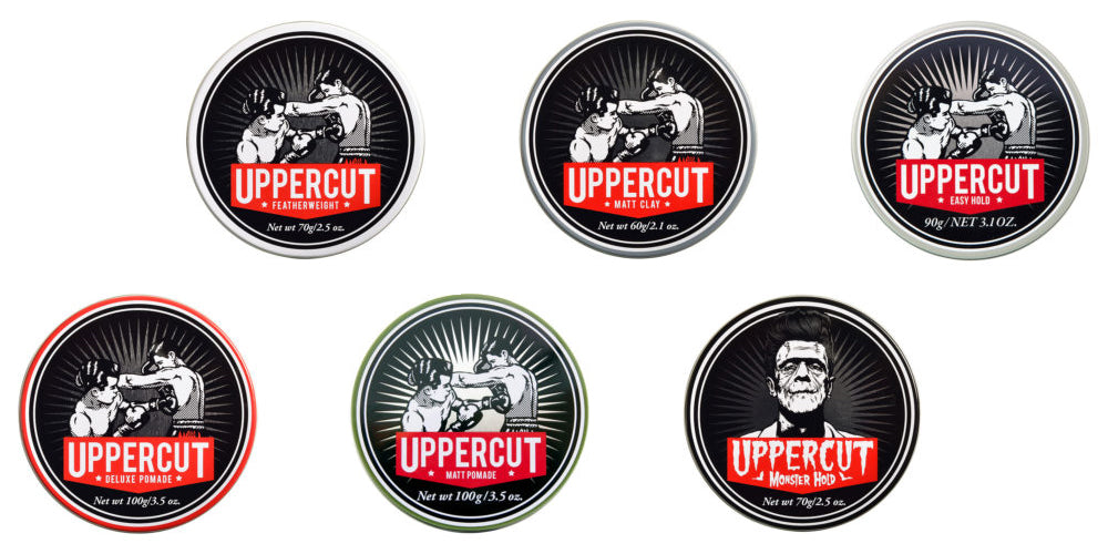 Uppercut Deluxe Hair Products at Boys'Co