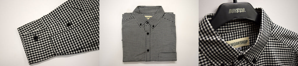 Workshop Black & White Gingham Shirt