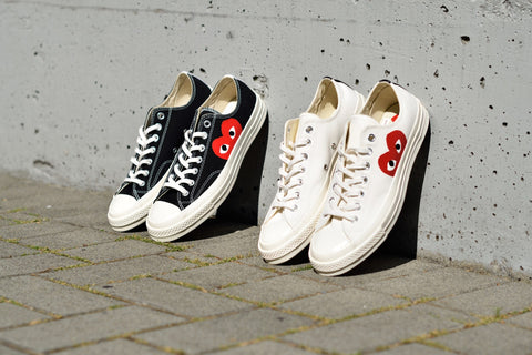 Comme des Garcons Play x Converse Chuck Taylor All Star  70 Low Top ... d59a3ecc708bf