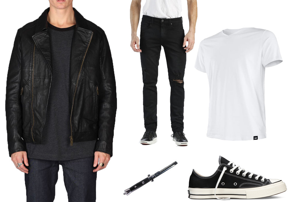 Easy Halloween Costumes - Greaser