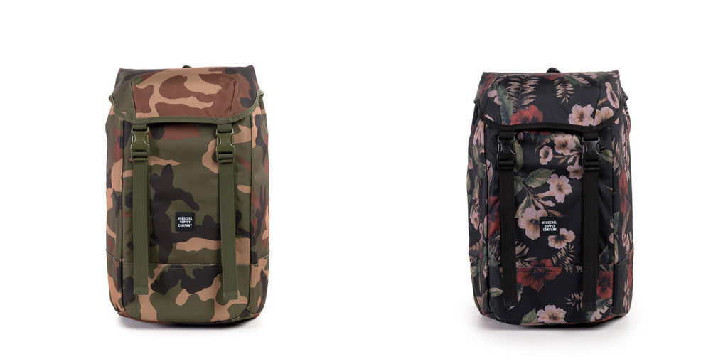477eececfae The Iona Backpack is a new silhouette to Herschel s lineup of bags. This  modern designed bag features an easily accessible top closure which is  concealed by ...