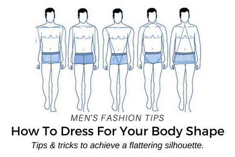How to dress for different types of body shapes