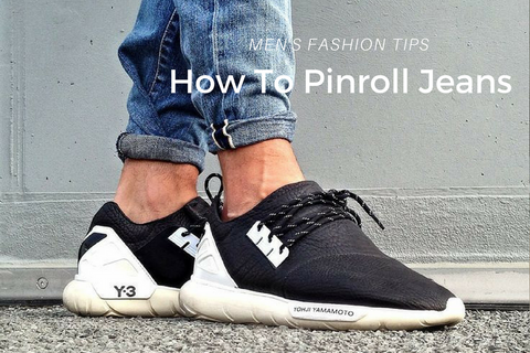 how to pinroll jeans