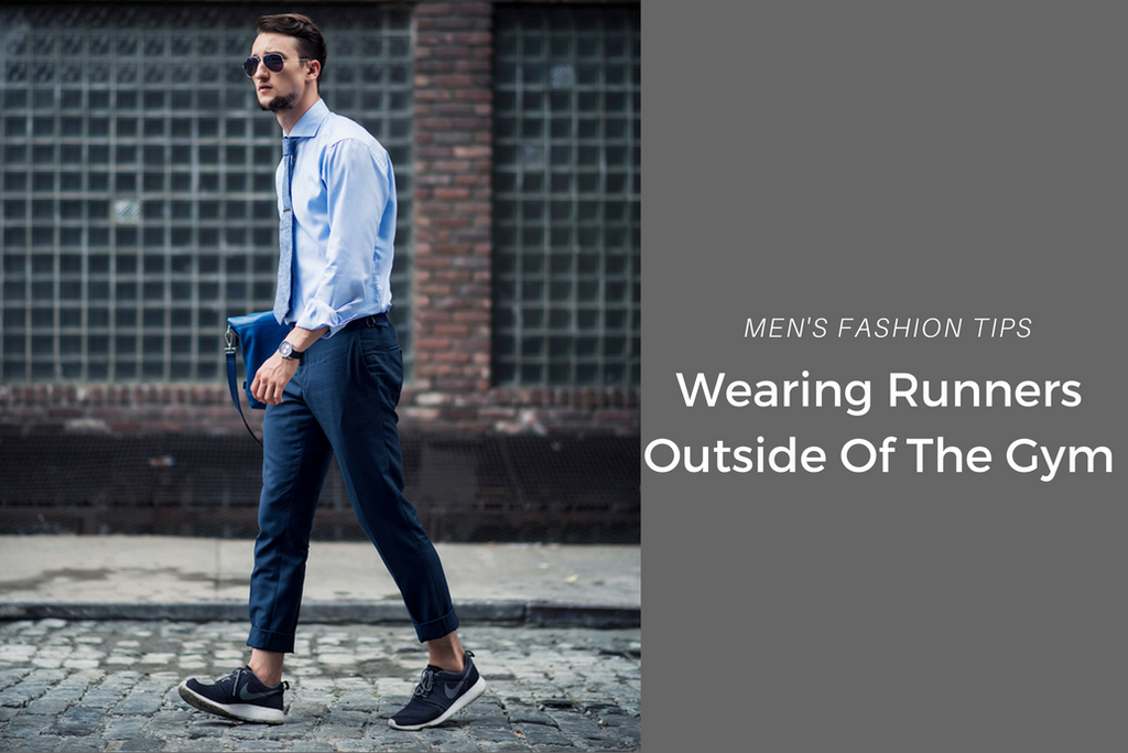 How to wear runners with outside gym